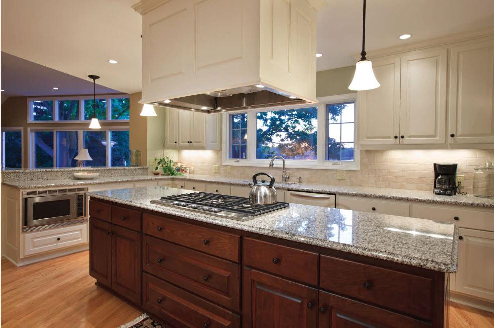 Айвори в дизайне кухни