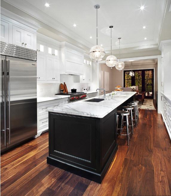 Система освещения кухонного пространства