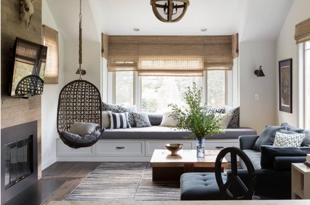 Кресло в зоне отдыха