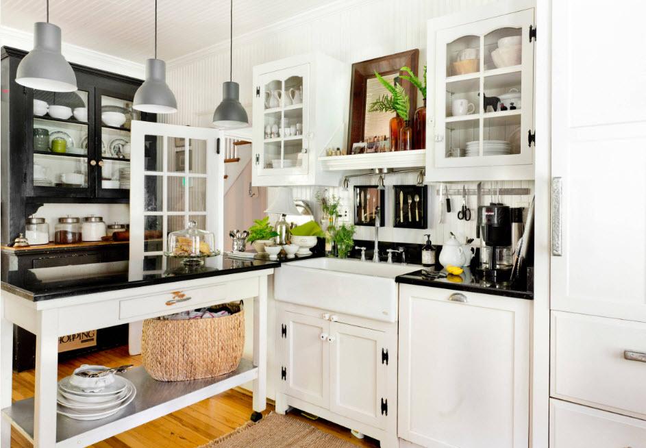 Для небольшого кухонного ространства