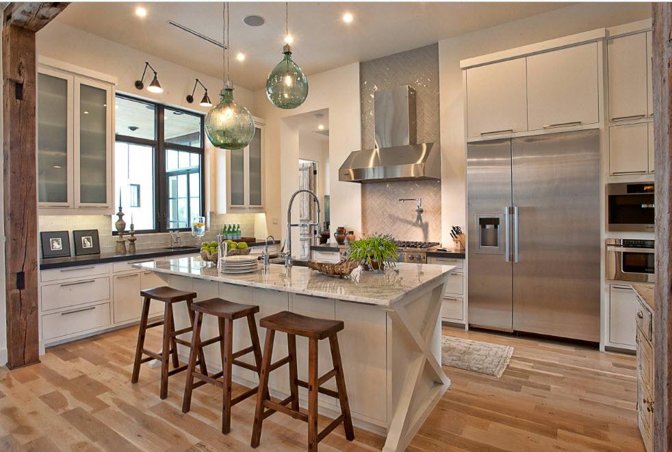 Цвет айвори на кухонных поверхностях