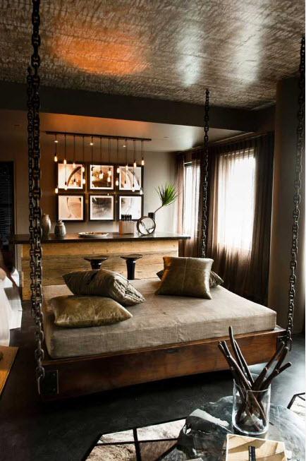 Дизайн для необычной спальни