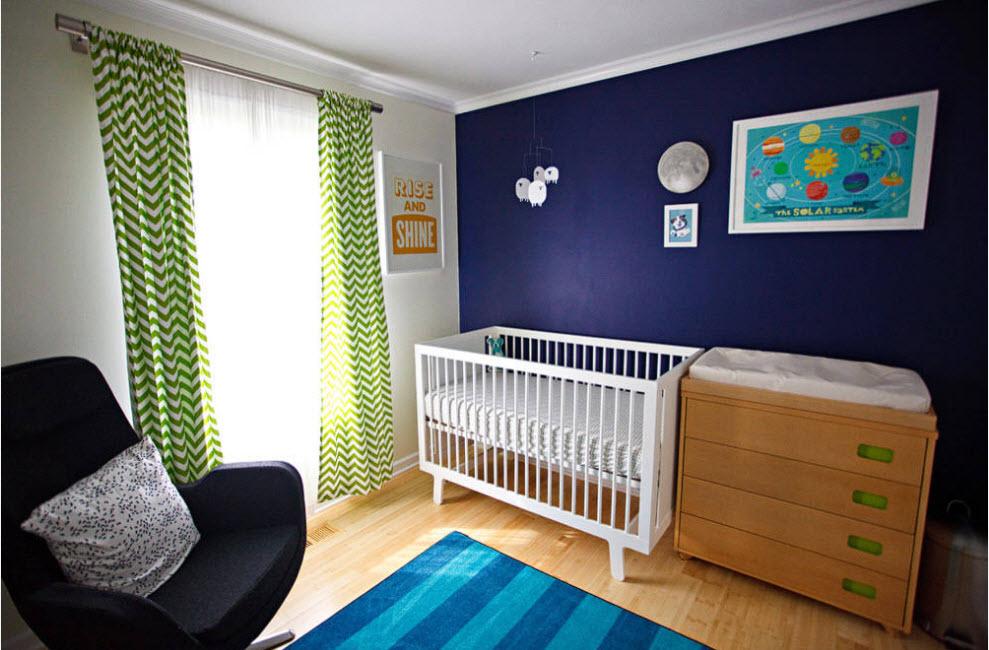 Шторы для комнаты новорожденного