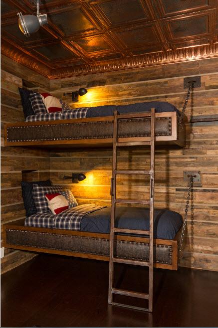 Кровати подвесные на цепях