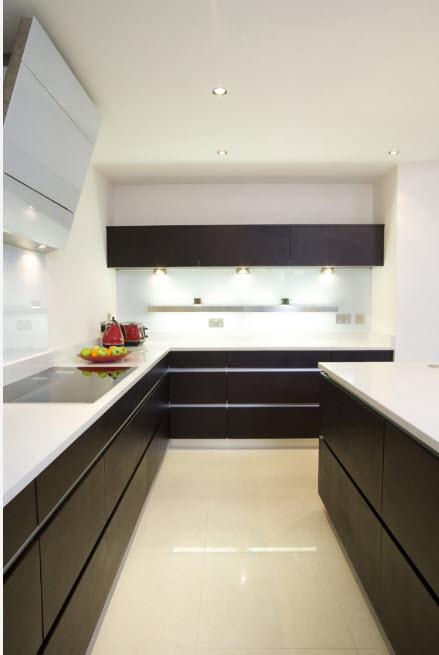 Дизайн для узкого помещения