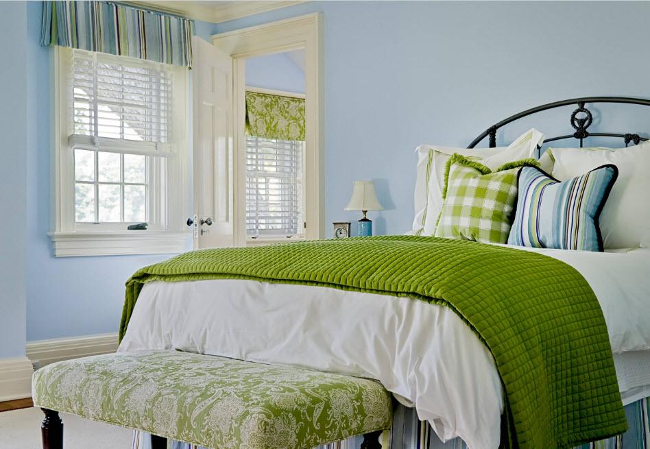 Акцент на оформление спального места