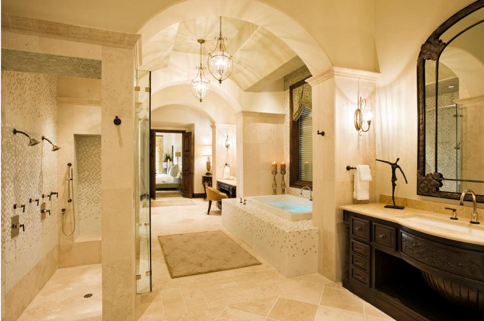Цвет айвори в ванной