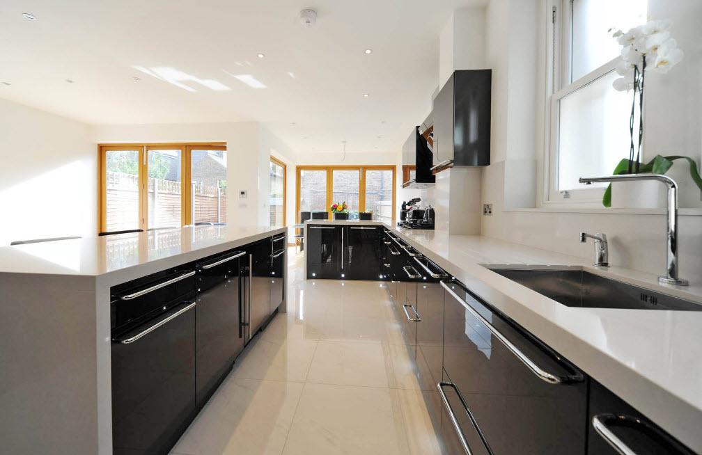 Масштабная кухонная обстановка