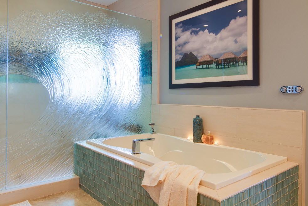 Декор для стеклянных полотен