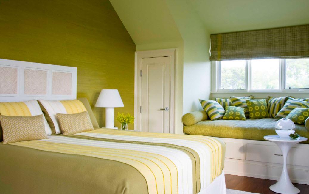 Колоритная спальня