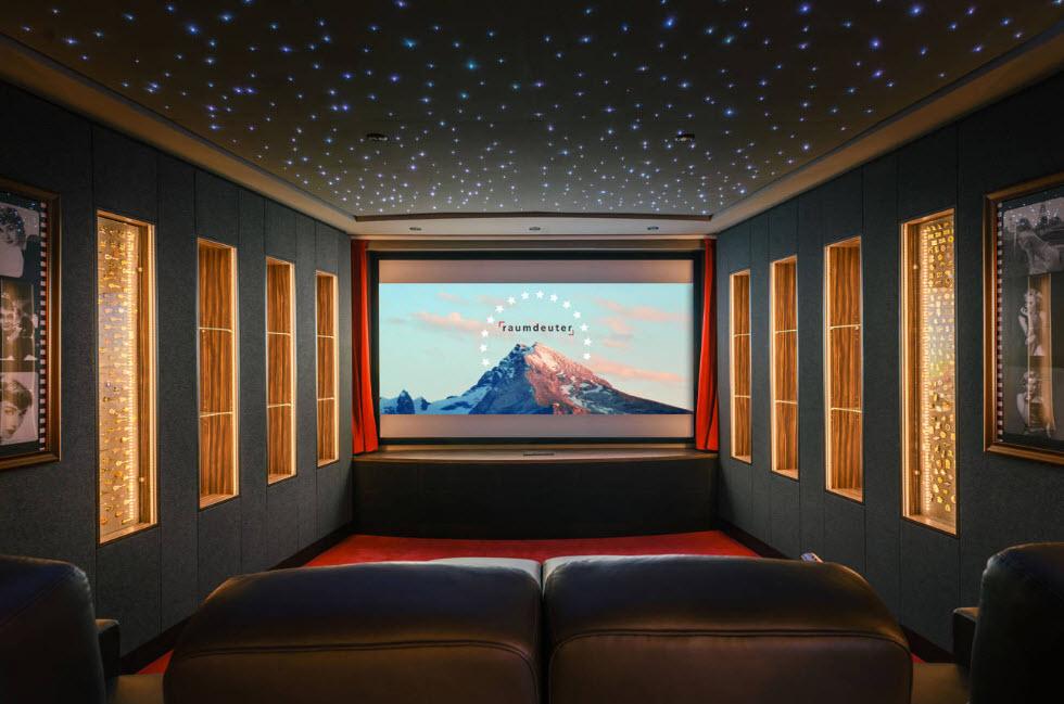 Звезды в домашнем кинотеатре