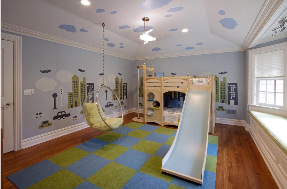 """Подвесной """"пузырь"""" для просторной комнаты"""