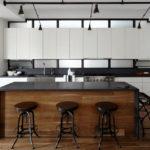 Черно-белая кухня – особенности контрастного дизайна