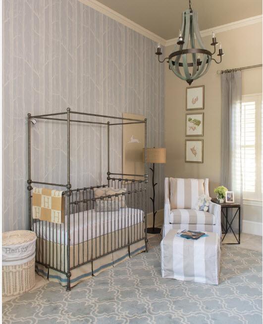 Дизайн комнаты новорожденного