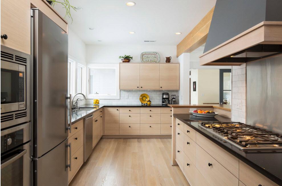 Кухонный фасады беленый дуб