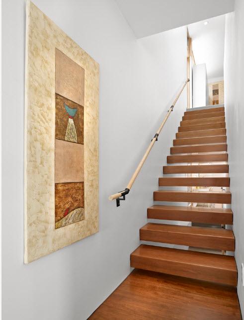 Поручень для узкой лестницы