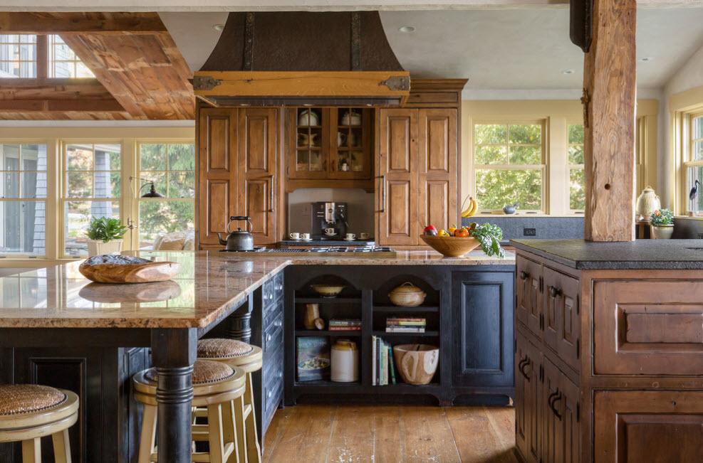 Множество деревянных элементов