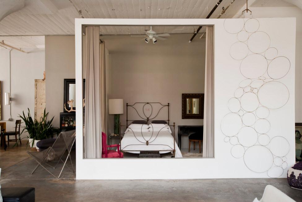 Спальня в отдельной зоне