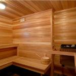 Отделка бани или сауны в частном доме
