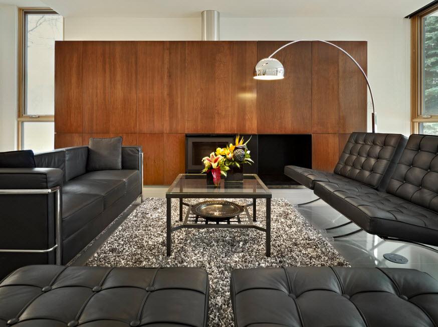 Лаконичный дизайн гостиной