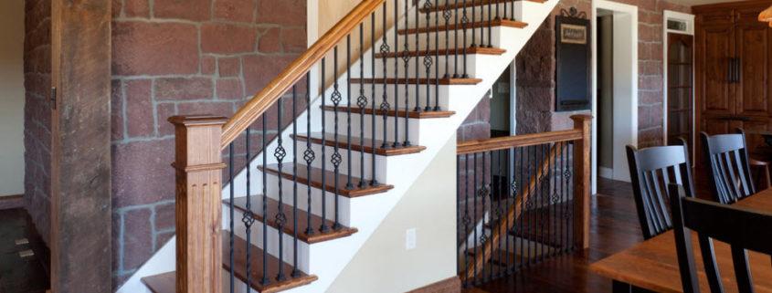 Перила для оформления лестницы