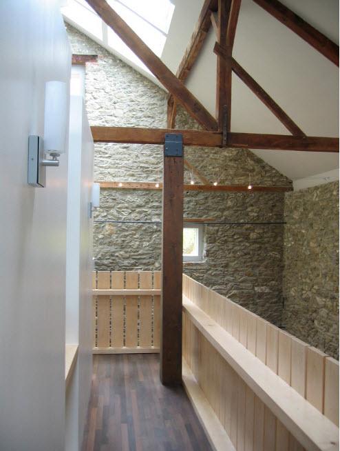 Пространство вокруг лестницы