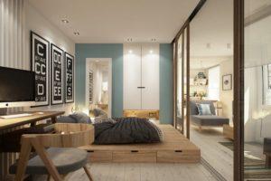 Кровать-подиум - изюминска современного интерьера
