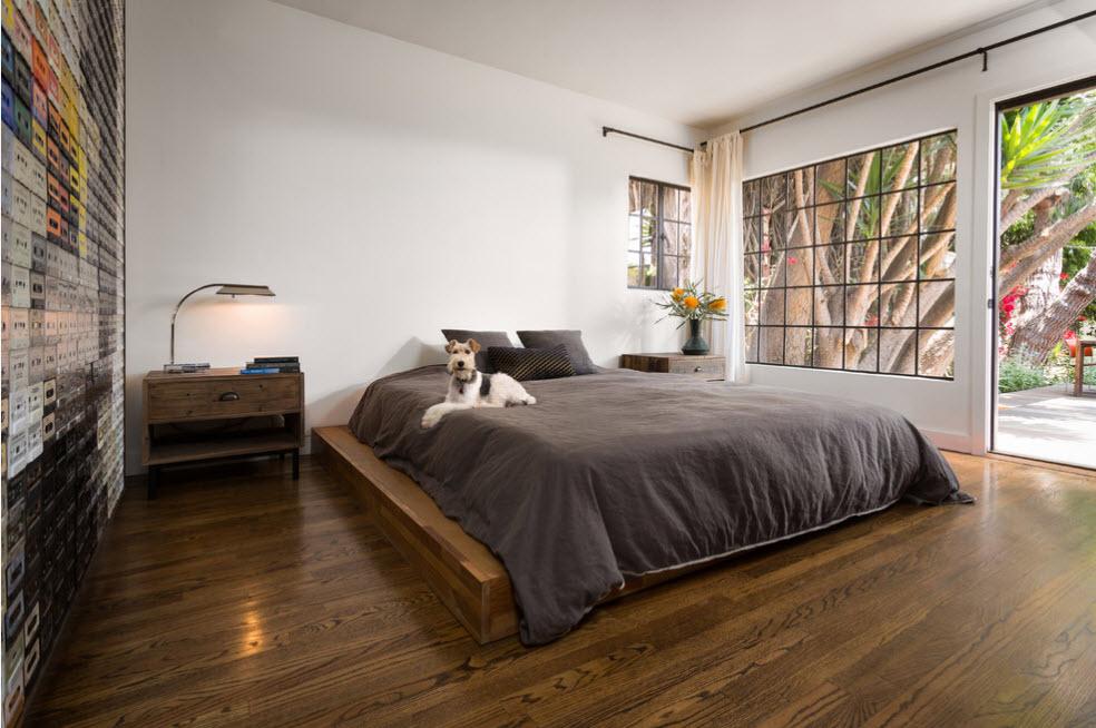 Для просторной спальни