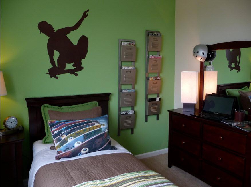 В комнате для подростка