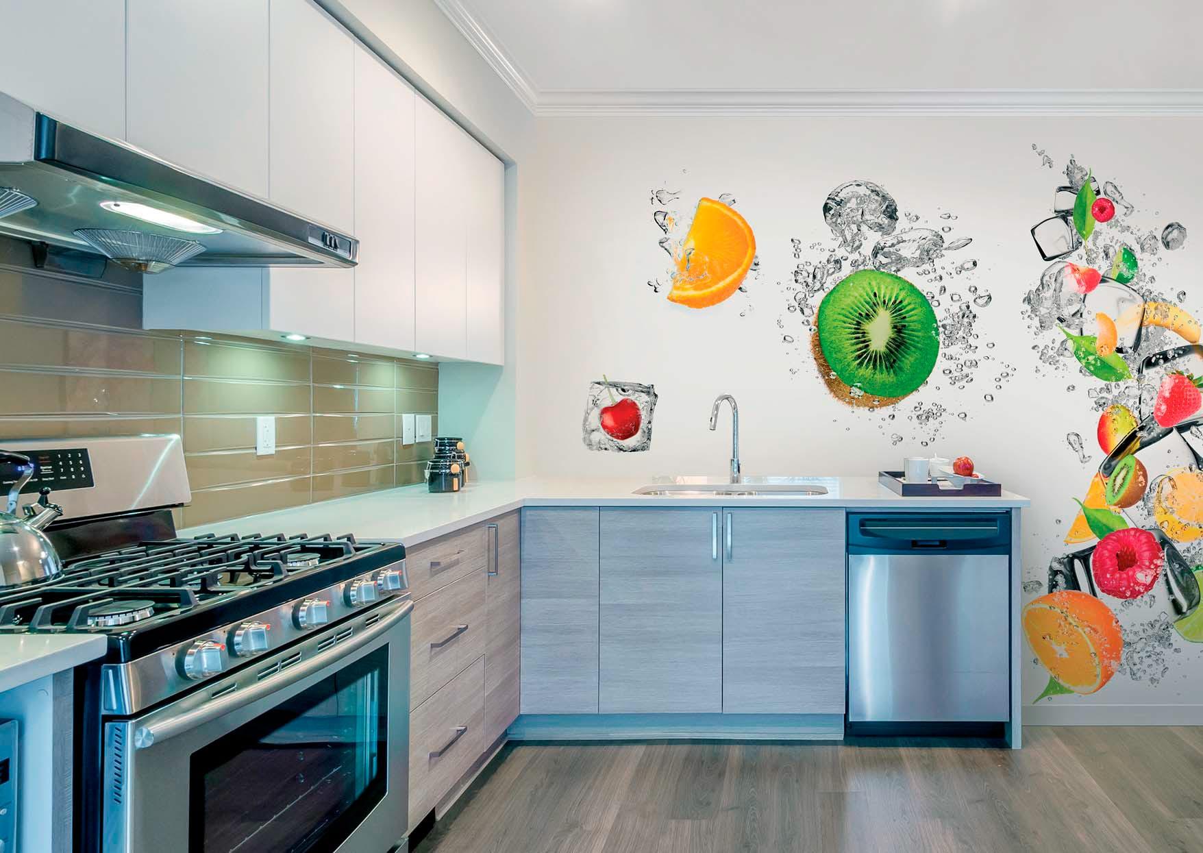 Дизайн кухни в квартире фото 2018 современные идеи обои
