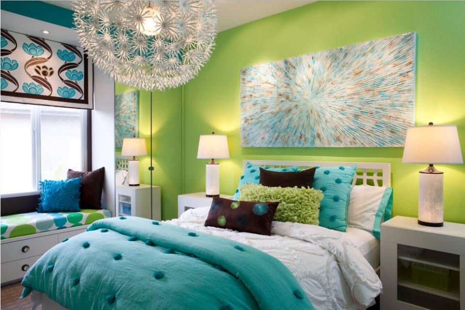 100 лучших идей дизайна: как покрасить стены в квартире на фото