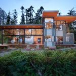 Дома в стиле хай-тек: «высокие технологии» для частных проектов