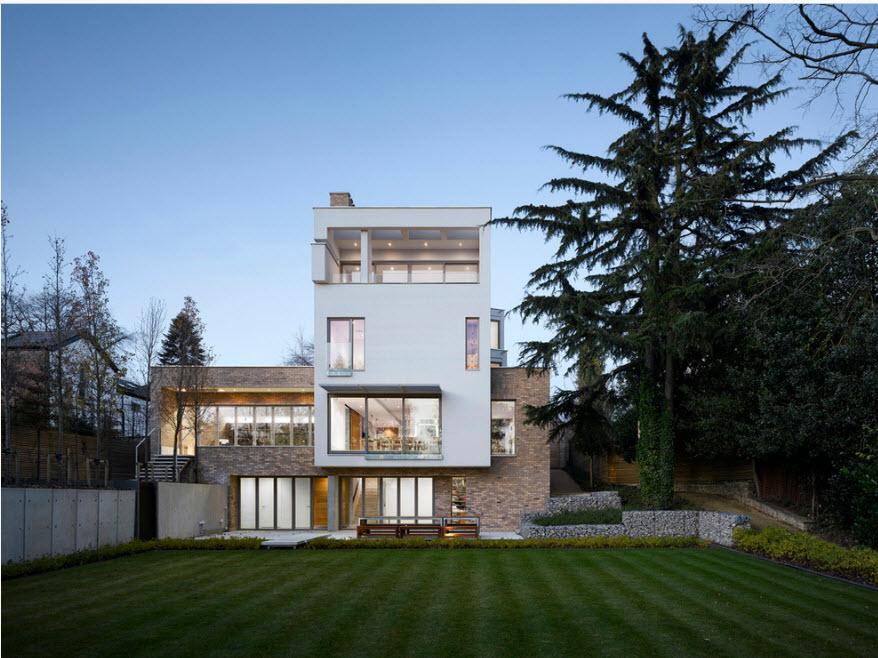 Необычный дизайн дома