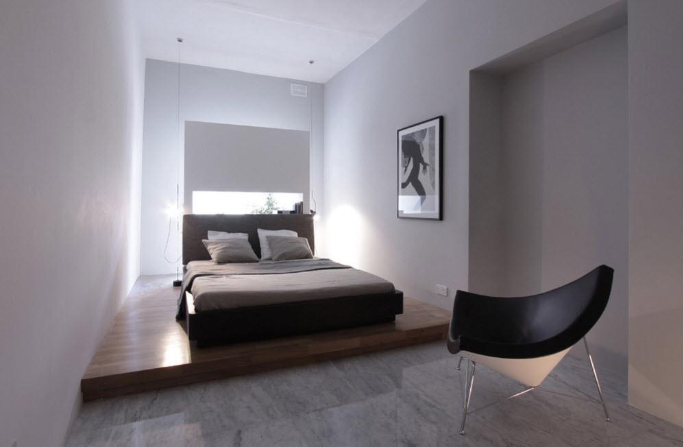 Все оттенки серого в спальне