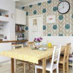 Обои для кухни: современные идеи в дизайне интерьеров