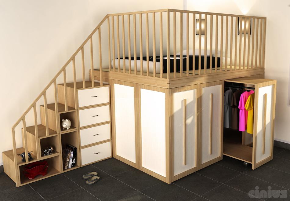 Функциональный мебельный комплекс