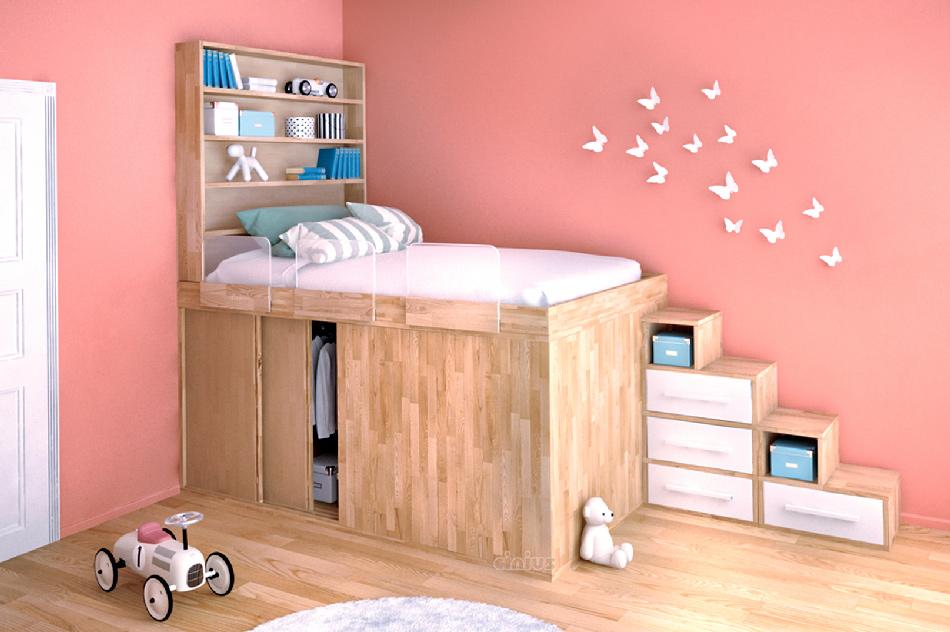 Оформление спальни для девочки