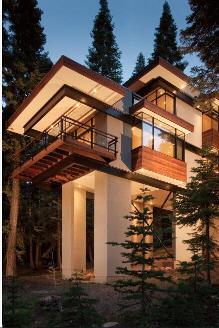 Оригинальное строение