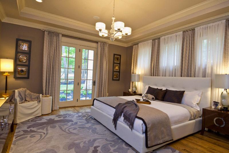 дизайнерская спальная комната