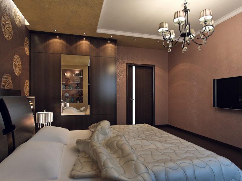 Фото реальных спален дизайн
