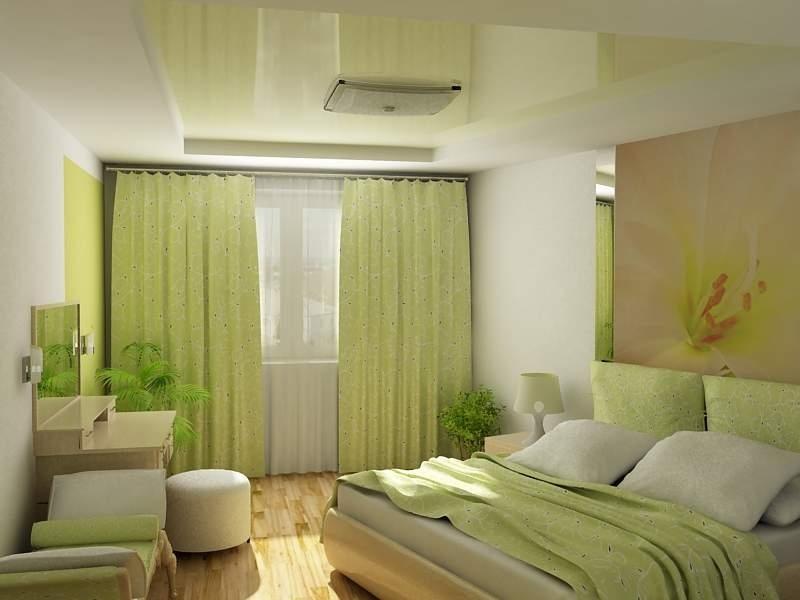легкий зеленый оттенок
