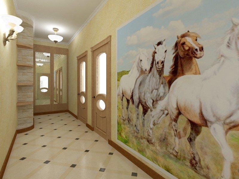 обои с лошадями
