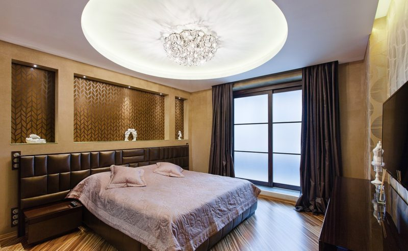 шикарная спальная комната