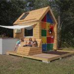 Детские домики: интересные модели и варианты постройки игровых конструкций
