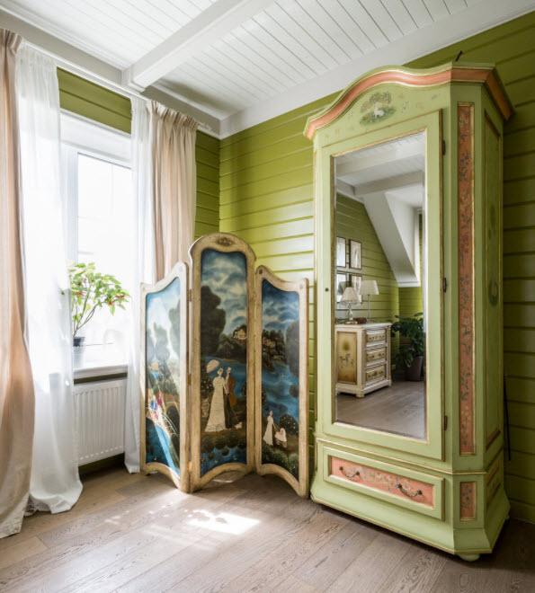 ширма для женской спальни