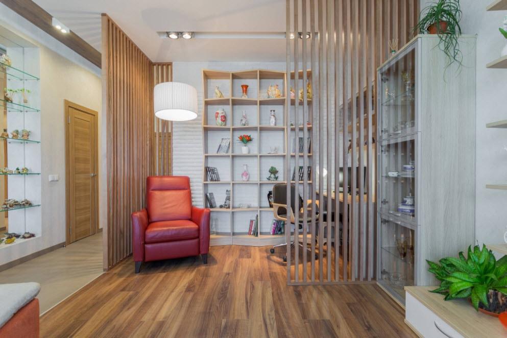 ширмы создающие отдельную комнату