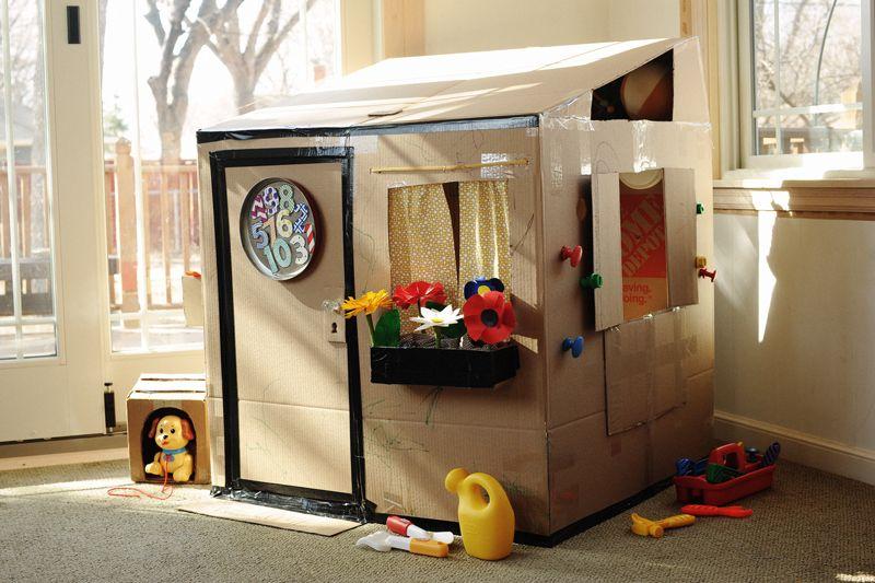 Как сделать домик ребенку самому 755