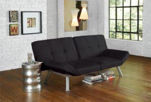 черный диван клик-кляк