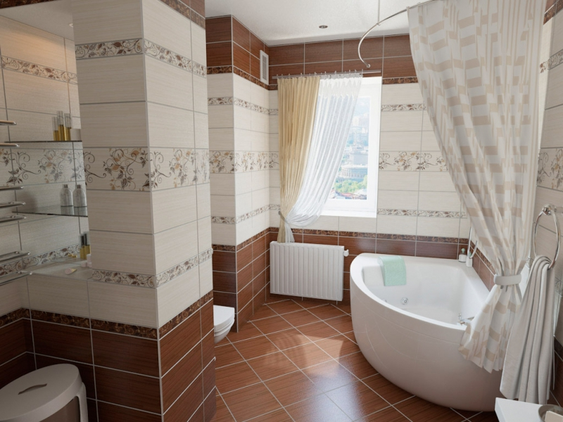 большая ванная