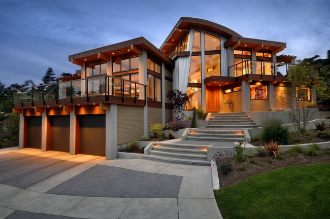 Необычные дома и их внутренности